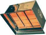 Газов инфрачервен нагревател серия RV/DR