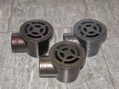 Сифон рогов алуминиев  Ф50 - шагрен