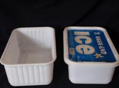 Packing for ice-cream