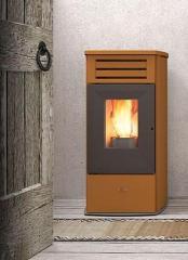 Пелетна камина FIRE maiolica - суха