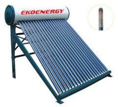 Слънчев водонагревател отворена система EKOENERGY