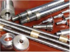 Completing parts for machine tools