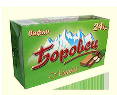 Вафла Боровец лешник 24 бр