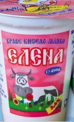 Краве кисело мляко ЕЛЕНА
