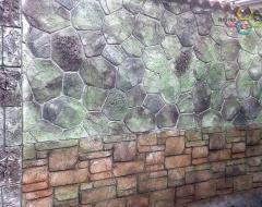 Облицовки стенни от щампован бетон