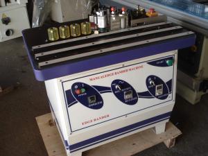 Кантираща криволинейна машина с два олепиляващи