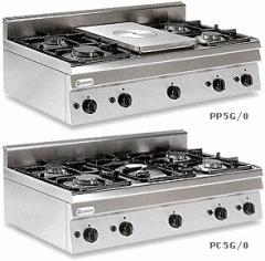 Котлон газов с четири горелки TECNOINOX PP 5 G/0