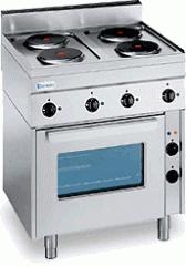 Печка електрическа с четири плочи TECNOINOX PF 70