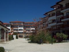 Курортен комплекс на брега на Черно море