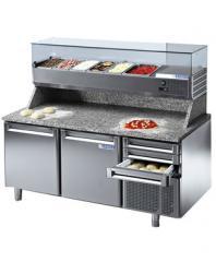 Хладилна маса за подготовка на пица