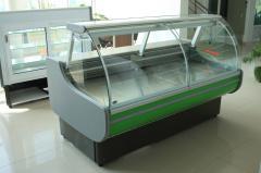 Хоризонтална среднотемпературна хладилна витрина