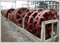 Резервни части за минно-обогатителни машини от