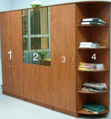 Офис шкафове от пдч