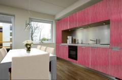 Кухня с врати от мдф с PVC фолио