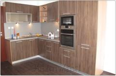Кухня в декори дъб мур и пине орегон