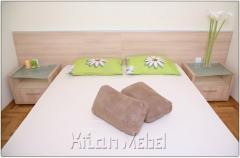 Обзавеждане за спалня в декор рустикален дъб
