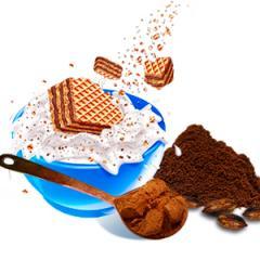 Мини вафли Family какао