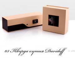 Дизайнерски опаковки - Твърда кутия Davidoff