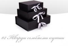 Луксозни опаковки - 02 - Твърди сглобяеми кутии