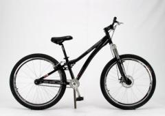 Full suspension mountain bicycles