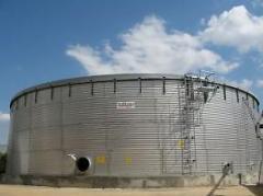 Стоманени резервоари за индустрията