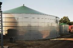 Гладки стоманени резервоари за промишлеността и