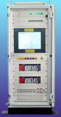 Equipment of control systems for service stations