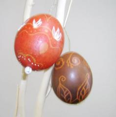 Великденски писани яйца