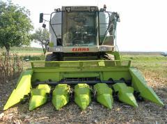 Хедер за качествена жътва на царевица