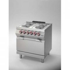 Eлектрическа печка с 4кръгли котлона и фурна