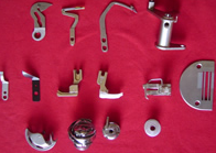 Spare parts for sewing equipment