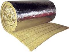 Thermal insulation on the paper base