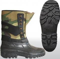 Rubber boots for general purpose