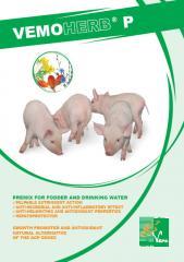 Премикс за фураж на билкова основа за свине