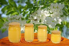 Акациев мед и пчелни продукти