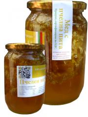 Липов мед с пчелна пита