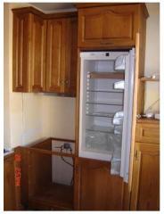 Кухня с вградени шкафове