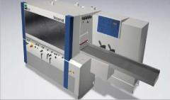 Planing machines, single-way, for woodworks