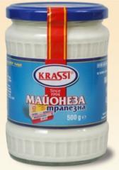 Home-made mayonnaise