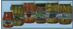 Canned sterilized vegetables
