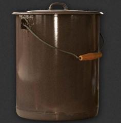 Кофа цилиндрична с капак