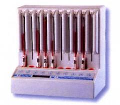 Апарат за измерване на скоростта на утаяване на