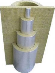 Products heat-insulated polyurethane foam
