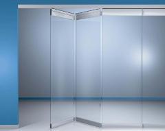 Стъклени врати тип хармоника
