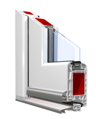 PVC-системи за прозорци и врати System_70 mm