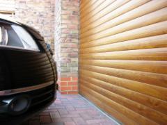 Гаражни врати с термо ламели