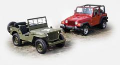Резервни авточасти за всички модели Jeep