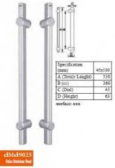 Дръжки за стъклени врати  DMD 9025 cc 360