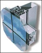 Окачен фасад от алуминий