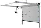 Секционни гаражни врати ISO 34 с ръчно и